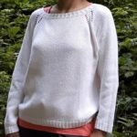 Maglione Sandy Shore in Rowan Creative linen - Knitting Laura